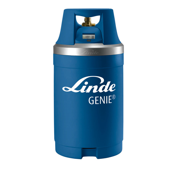 Intelligence unit from WIKA for the Linde Group's new gas cylinders