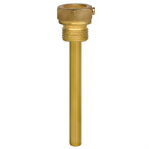 Thermowell with thread